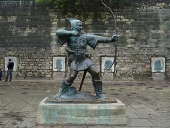 Robin-Hood-Statue