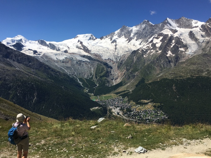 Saas Fee , where we came from